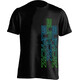 Supacaz Str8 Up T-Shirt Unisex neon grün/neon blau